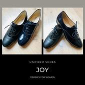 Feel comfortable with Joy 👞 beautifull derbies for women ! . . . . . #uniform #uniformshoes #derbies #uniformshoesmanufacturers #flightattendant #cabincrew #eventcompany #evenementiel #wintercollection #shoesforwork #workoutfit #leathershoes