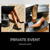 Choose Private Event high heel pumpshoes 👠 for comfort, elegance and style !  .  . . . . #uniformshoes #uniforme #uniform #pumpshoes #derby #witheshoes #cognacshoes #hostess #event #newcollection #elegance #workoutfits