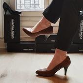 Choose the comfort and elegance : Private Event high heel pumpshoes 👠 .  . . . . #uniformshoes #uniforme #uniform #pumpshoes #cognaccolor #cognacshoes #hostess #event #newcollection #elegance #workoutfits